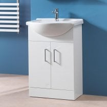 650mm Base Unit & Basin (can be used with WC Units)