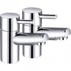 Ebony Basin Taps (Pair)