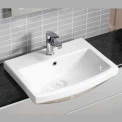 Nevada 550 x 420mm Semi-Recessed Basin