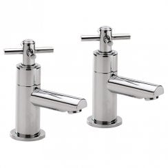 Trio Cross-Head Basin Taps (Pair)