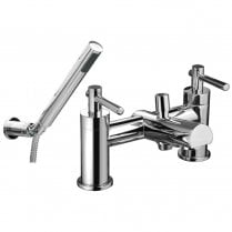 Trio Lever-Head Bath Shower Mixer & Kit (2 Hole)