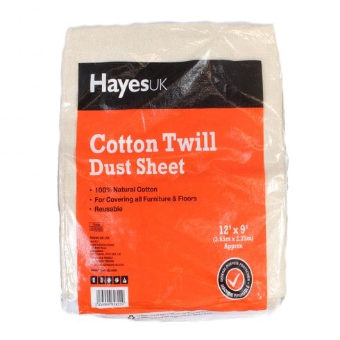 Arctic Hayes Cotton Twill Dust Sheets