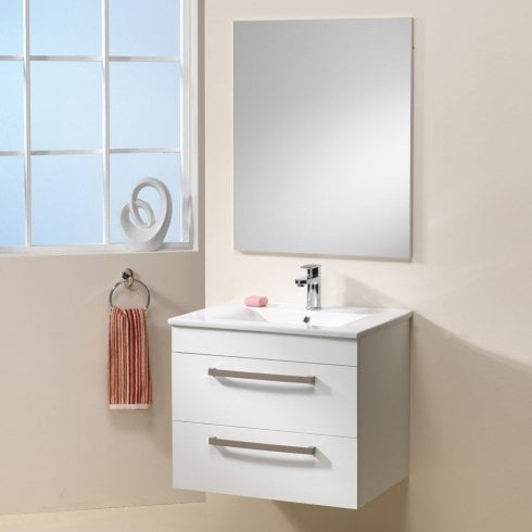 Ascent Furniture Aston Wall-Hung Base Unit & Basin