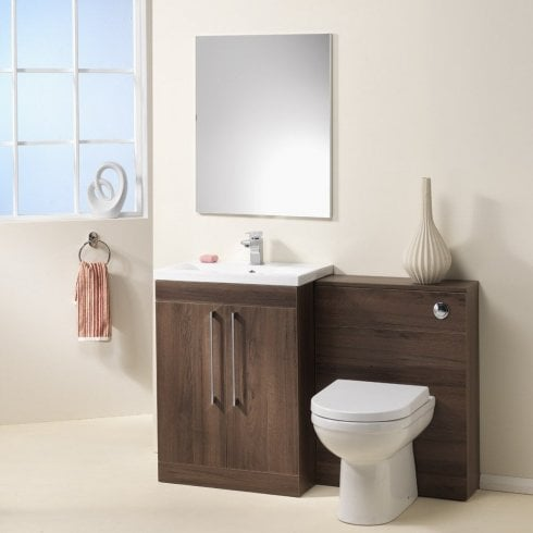 Ascent Furniture Kansas 600 & 800mm Base Unit, Basin & WC Base Unit