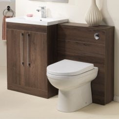 Kansas 600mm Slimline WC Base Unit Only