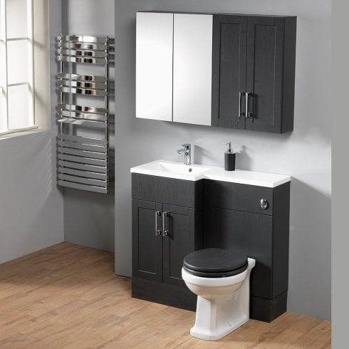 Ascent Furniture Ritz 100 Combination with Square 1-Piece Basin