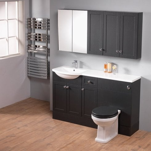 Ascent Furniture Ritz 150 Combination with Round 1-Piece Basin