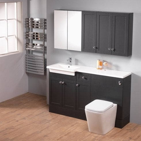 Ascent Furniture Ritz 150 Combination with Square 1-Piece Basin