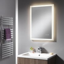 Charlotte Mirror with Integrated LED Light Strip - 500 x 700mm & 600 x 800mm