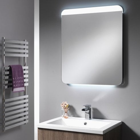 Ascent Mirrors Cornell Mirror with Integrated LED Light Strips - 600mm & 1200mm