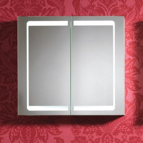Ascent Mirrors Cumulus 700 x 650 x 140mm Mirrored Cabinet
