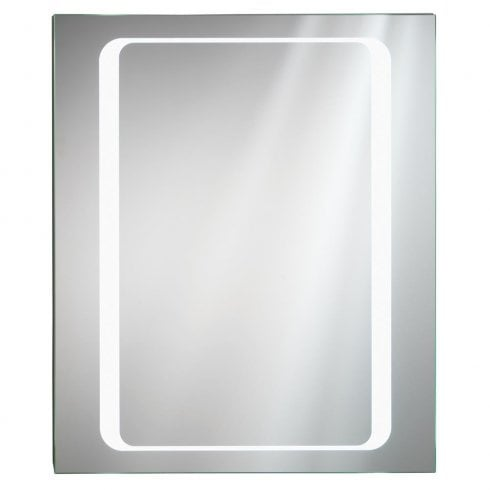 Ascent Mirrors Opacus 400 x 500 x 140mm Mirrored Cabinet