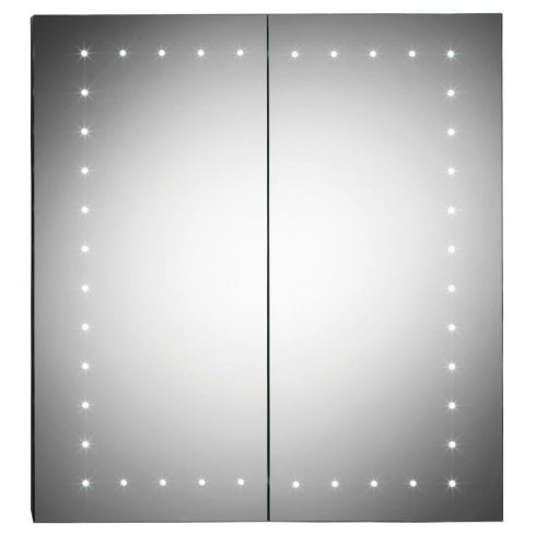 Ascent Mirrors Pileus 600 x 650 x 140mm Mirrored Cabinet
