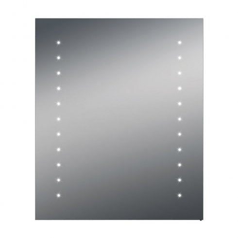 Ascent Mirrors Verona 500 x 600 x 140mm Battery Powered Mirrored Cabinet