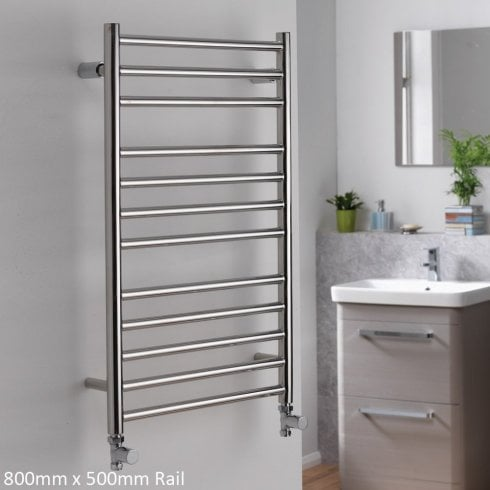 Ascent Rails Libra Rail - Stainless Steel Finish