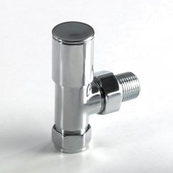 Round Radiator Valves (pair)