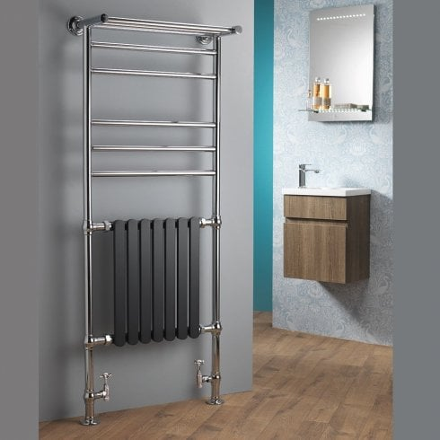 Ascent Rails Venetian Traditional Rail with Towel Shelf