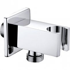 Nevada Square Outlet Elbow & Shower Handset Holder