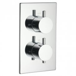 Ohio Twin Thermostatic Shower Valve with 1 Outlet (controls 1 function)