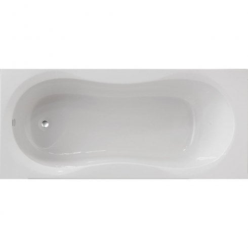 Ascent Superspec Alabama Bath with Option 2 Whirlpool - 1700 x 750mm
