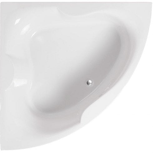 Ascent Superspec Michigan Corner Bath & Panel with Option 2 Whirlpool - 1500 x 1500mm