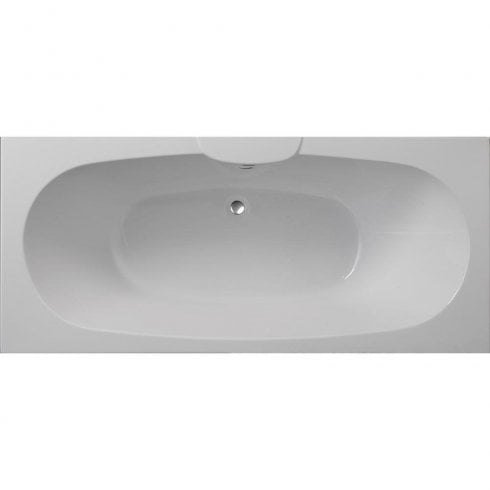 Ascent Superspec Nebraska Bath with Option 2 Whirlpool - 1700 x 750mm & 1800 x 800mm
