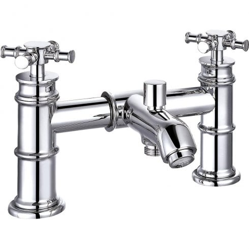 Ascent Taps Classic Nouveau Bath Shower Mixer & Kit (2 hole)