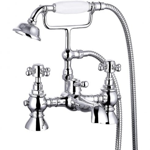 Ascent Taps Nostalgic Bath Shower Mixer & Kit (2 hole)