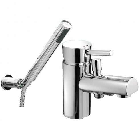 Ascot Ohio Bath Shower Mixer & Kit (Single Hole)