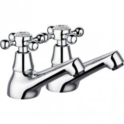 Victorian Bath Taps (Pair)