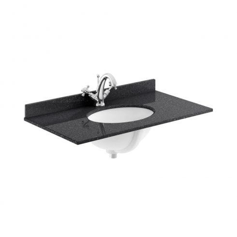 Bayswater 800MM SINGLE BOWL 1 TAP HOLE MARBLE TOP