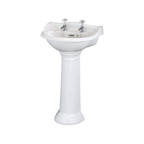 Bayswater PORCHESTER 500MM 2 TAP HOLE BASIN