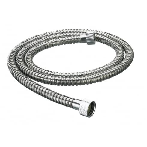 Bristan 1.5m Nut to Nut Stainless Steel 8mm