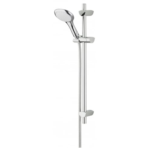 Bristan Evo Shower Kit with Rub Clean Handset ? Chrome Plated