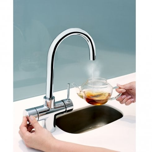 Gallery 3 in 1 Rapid Hot Water Kitchen Tap