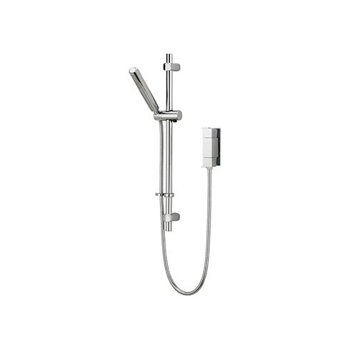 Bristan Qube Vertical Thermostatic Valve with Adjustable Riser Chrome Plated