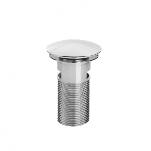 Bristan Round Clicker Basin Waste with Clicker RD Chrome Plated Slotted