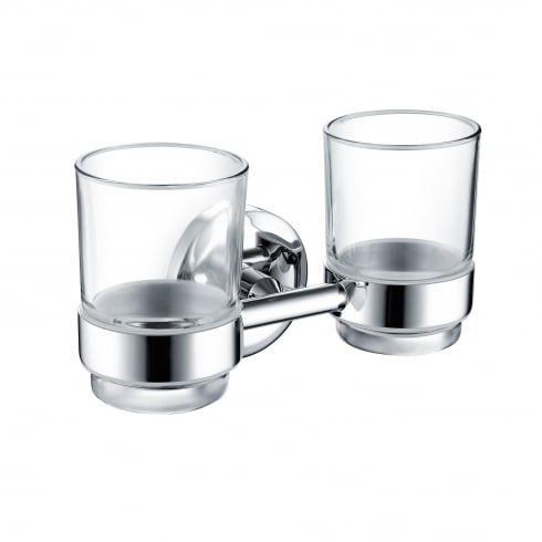 Bristan Solo Double Tumbler & Holder