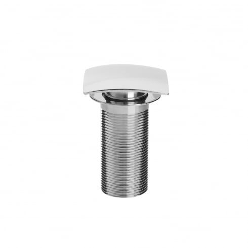 Bristan Square Clicker Basin Waste with Clicker SQ Chrome Plated Unslotted