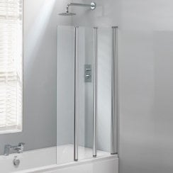 3-Fold Bath Screen - 1400 x 860mm