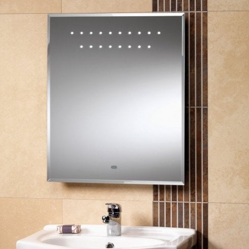 Genesis Amazon Mirror with LED Lights - 500 x 600mm