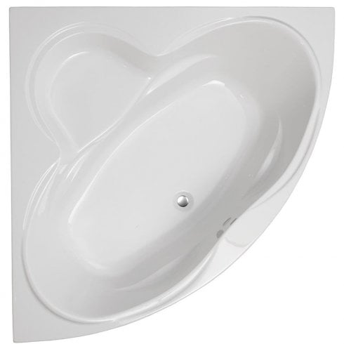 Genesis Colorado Corner Bath & Panel with Option 1 Whirlpool - 1400 x 1400mm
