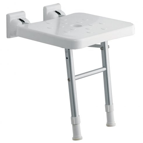 Genesis Comfort Fold-Up Shower Seat with Legs