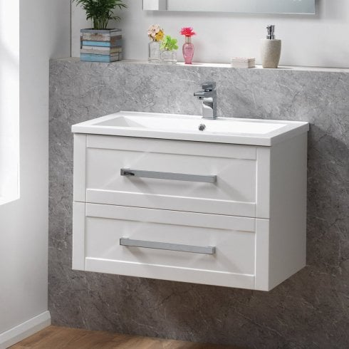 Genesis Deluxe Deco 60 Wall Hung Base & Basin