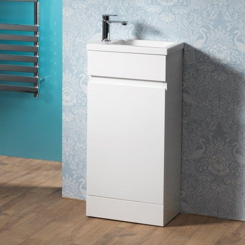 Genesis Deluxe Urban 40 Slimline Base Unit & Basin