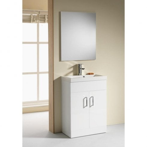Genesis Eden 500 & 600mm Base Units & Basins - 350mm Depth (can also be used with WC Unit)