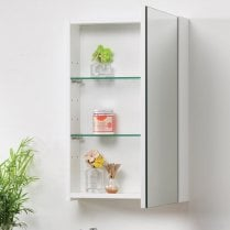 Options Mirrored Cabinets - 400mm to 1200mm