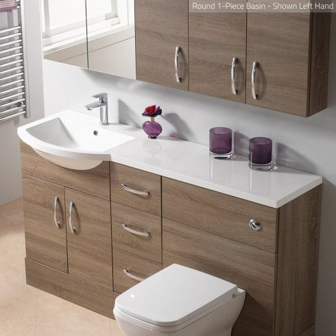 Genesis Q-Line Round 1-Piece Basin Options
