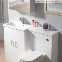 Square 1-Piece Basin Options