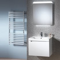Radius 60 Wall Hung Base & Domino Basin